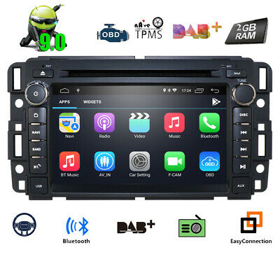 """7""""Android 7.1 Stereo Car DVD Radio GPS Navi Quad-Core for Chevrolet GMC Acadia a"""