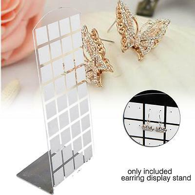 36 Pairs Earring Jewelry ShowCase Tool Display Organizer Display Holder white YY