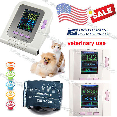 CONTEC08VET Veterinary Digital Blood Pressure Monitor, NIBP CUFF, FDA CE