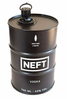 Neft Vodka Black Barrel Russian Premium 700Ml 40%