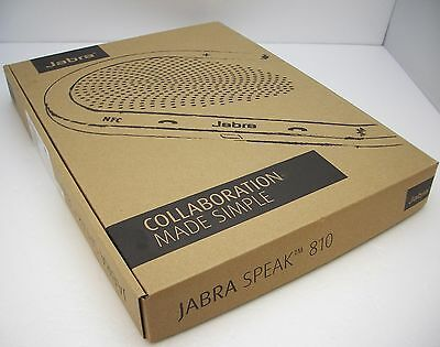 Jabra Speak 810 UC USB / Bluetooth Wireless Conference Speakerphone NEW 7810-209