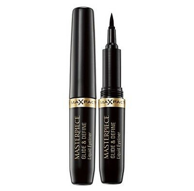 Max Factor Masterpiece Glide & Define Liquid Eyeliner 001 Black