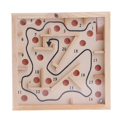 Children Kid Wooden balance Maze labyrinth Game Toys Intellectual early Learning