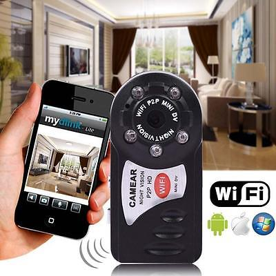 2016 Wireless Wifi P2P Mini Cam IP Spy Surveillance Camera For iPhone Android YA