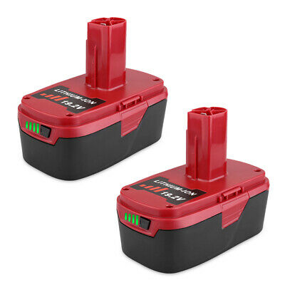 2 Pack 19.2V 6.0Ah Li-Ion Replacement Battery for Craftsman C3 130211004 11375