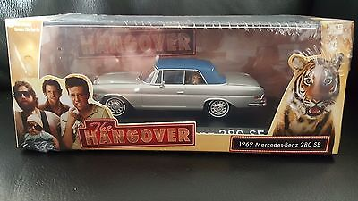 GREENLIGHT  1969 Mercedes Benz 280 SE The Hangover 1:43 SCALE DIECAST MODEL