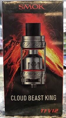 SMOK TFv12 Stainless Steel Order Now Cloudy Smok Tank Order Now Fast Delivery