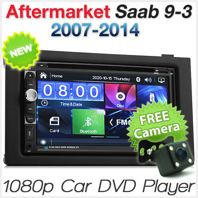 Saab 9-3 Car DVD Player 2007-2014 USB MP3 Stereo Radio Fascia Facia ISO Kit 93 E