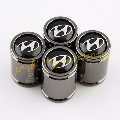 Titanium Alloy Wheel Tire Valve Stem Air Cap FOR Hyundai ix35 i30 Veloster VERNA