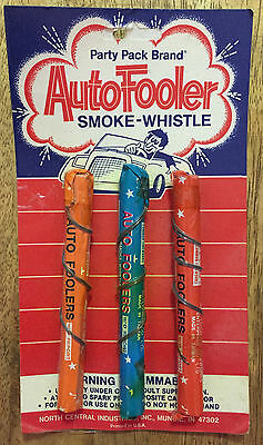 Vintage Auto Fooler Smoke Whistle - Party Pack Brand - Car Shenanigans