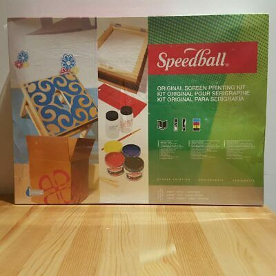 Speedball Classic Paper Screen Printing Kit for Paper Printmaking