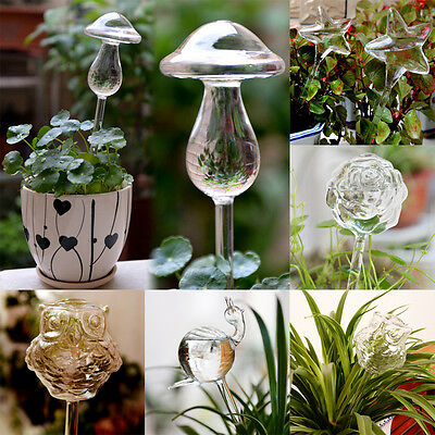 FB New Glass Self Watering Device Automatic Garden Sprinklers Waterer Houseplant