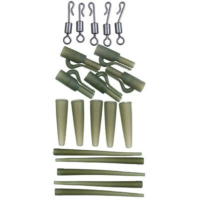 Gardner Covert Clip Kit Session Pack, Carp Fishing Terminal Tackle