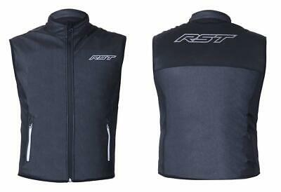 RST 1831 Thermal Wind Barrier Gilet Motorbike Motorcycle Base Layer Black