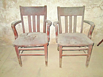 Vintage Murphy Wooden Chairs (sold seperately)