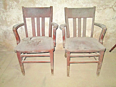 Vintage Murphy Wooden Chairs