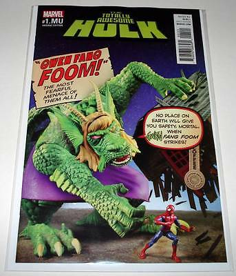 The Totally Awesome HULK : MONSTERS UNLEASHED # 1.MU Marvel Comic  NM   VARIANT