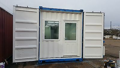 Container conversions portable building bespoke office space welfare toilet unit