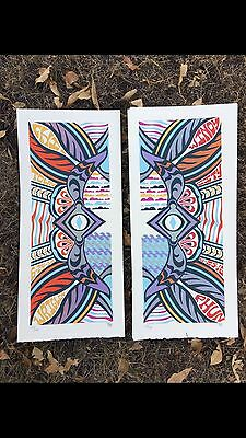 Phish Poster Wrigley Field Chicago IL 6/24-25/16 Print Tripp Trip 2016 Welker