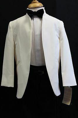 Mens And Boys Cream Nehru Jacket