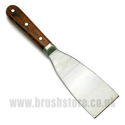 """Stainless Steel Scale Tang Stripping Knives 1"""", 2"""", 3"""", 4"""""""