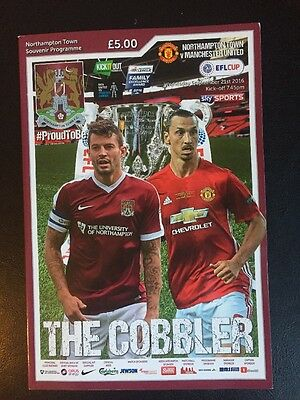 NORTHAMPTON TOWN v MANCHESTER UNITED (LEAGUE CUP) 2016/17