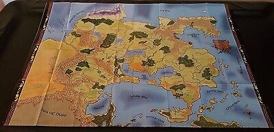 D&D GREYHAWK 4 Panel Map Set Lot Dungeons & Dragons Dungeon 118 119 120 121 NEW!
