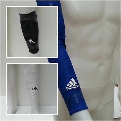 adidas TechFit NBA Basketball Arm Ellbogen Wade Calf Sleeve Compression O 25-27