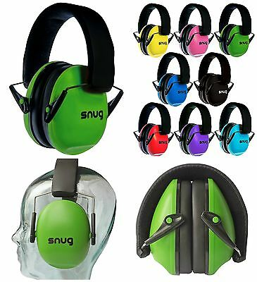 Baby Earmuff Sound Noise Ear Protector Protection Headset Toddler Green New