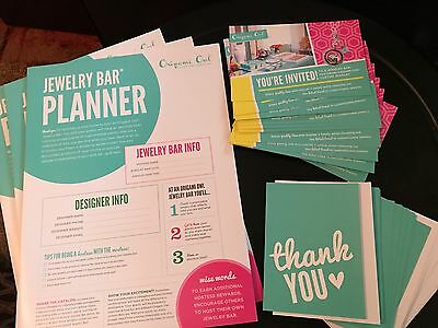 Origami Owl Supplies