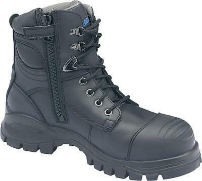 Blundstone 997 Black Platinum Water Resistant Upper Height Lace Up Ankle Safety