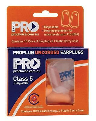 Probullet Epou-10 Disposable Uncorded Earplugs Class 5 Slc8027Db Pack 10