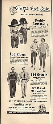 1951 Vintage ad The H.D. Lee Company`Buddy Lee Dolls (110616)