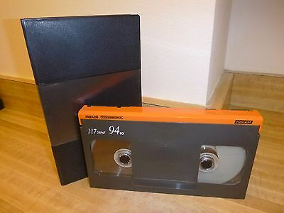 Lot Of 10 Used Maxell 94 Minute Hdcam Video Tapes With Cases - Look!