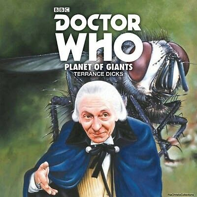 Doctor Who Planet of Giants Terrance Dicks Carole Ann Ford CD-Audio New Book Fre
