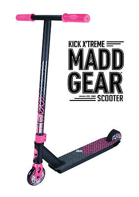 2017 Complete Madd Gear  Mgp Kick Extreme Scooter Pink/black