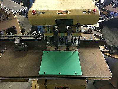 Challenge 3 spindle paper drill punch EH3