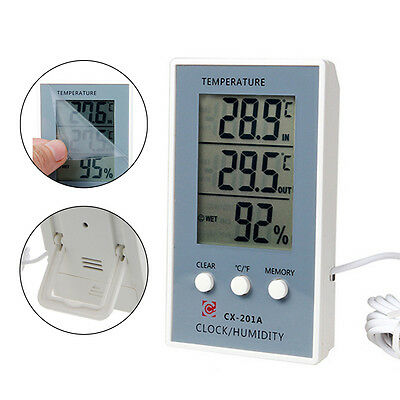 Digital LCD Thermometer Hygrometer Temperature Measurer Humidity Tester