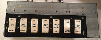 Hammond Organ M Series & More Pedal/Vibrato Switch Assembly 100% WORKING UNIT!