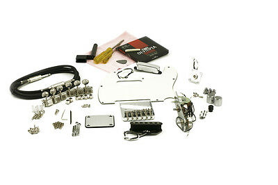 TELE® PARTS KIT CHROME Complete High Quality Parts kit to Complete your Build