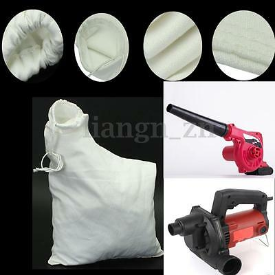 Polyester White Replacement Spare Leaf Blower Vac Vacuum Bag for Models 2595