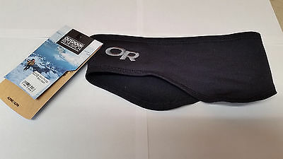 Outdoor Research Wind Pro Ear Band Headband - Black - One Size - New - Free Ship