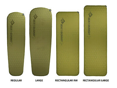 Sea To Summit Camp Mat Si 4 Season Self Inflating Compact Sleeping Mat - Olive