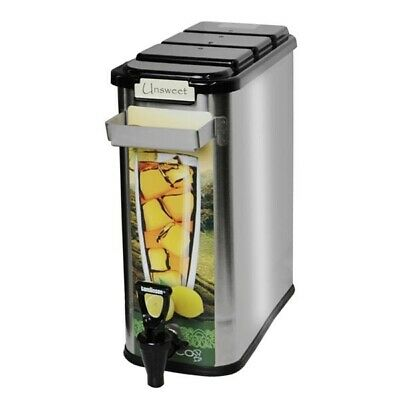 Newco 805010 3.5 Gallon Stainless Short Tea Dispenser **NEW** Authorized Seller