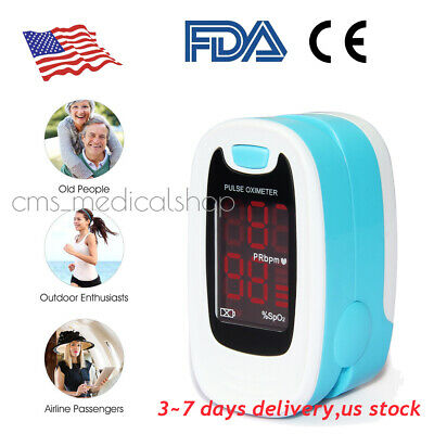 FDA Passed.Fingertip Blood Oxygen Meter SPO2*Pulse Heart Rate Monitor Oximeter