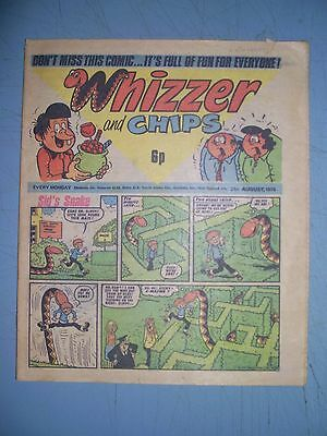 Whizzer and Chips issue dated August 21 1976