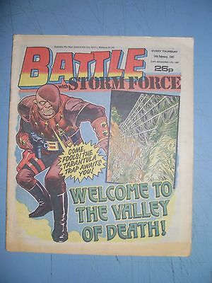 Battle issue dated February 14 1987
