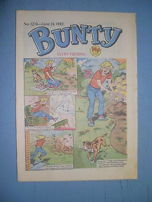 Bunty issue 1276 dated June 26 1982