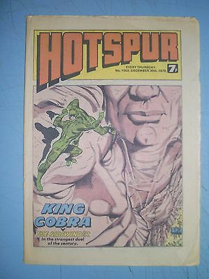Hotspur issue 1002 dated December 30 1978