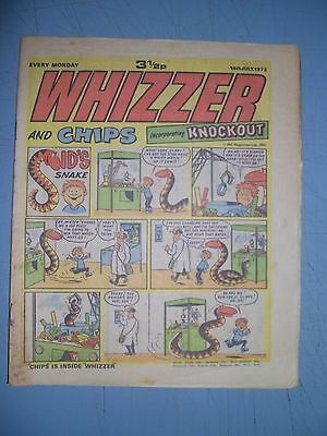 Whizzer and Chips issue dated July 14 1973
